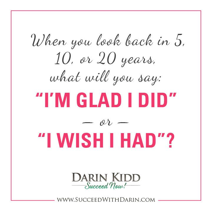 What will you say? #quotes #success #SucceedNow #DarinKidd