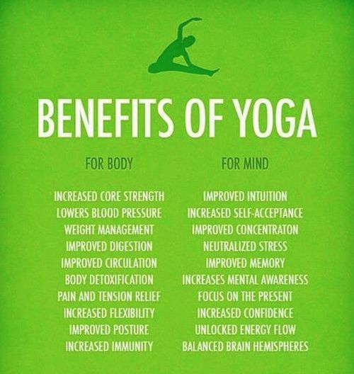 yoga and its health benefits Be open-minded, since there are physical and mental benefits you can gain by   if you're new to yoga or have any health or pregnancy related.