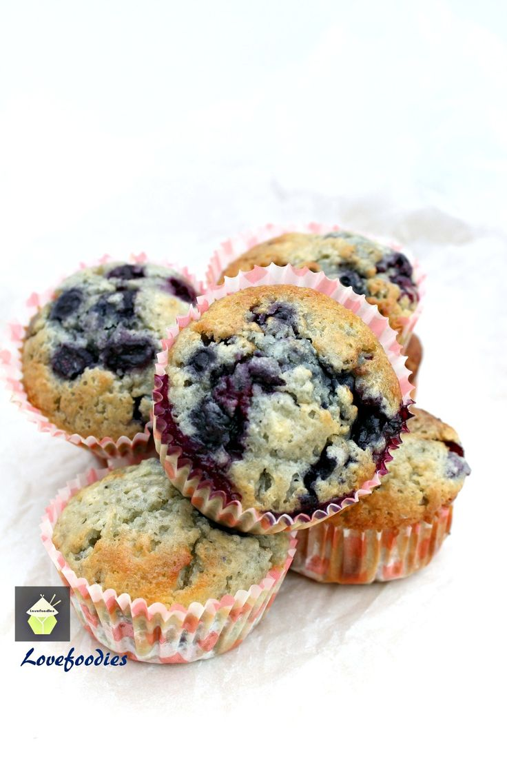 Blueberry and White Chocolate Muffins Great flavor combination and ...