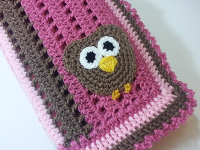 Crochet Owl Blanket : crochet owl blanket Crochet Owls Pinterest