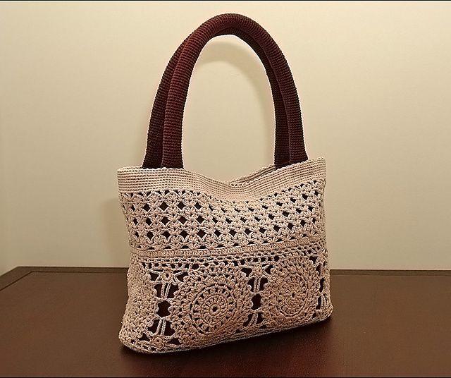 crochet summer bag crochet Pinterest