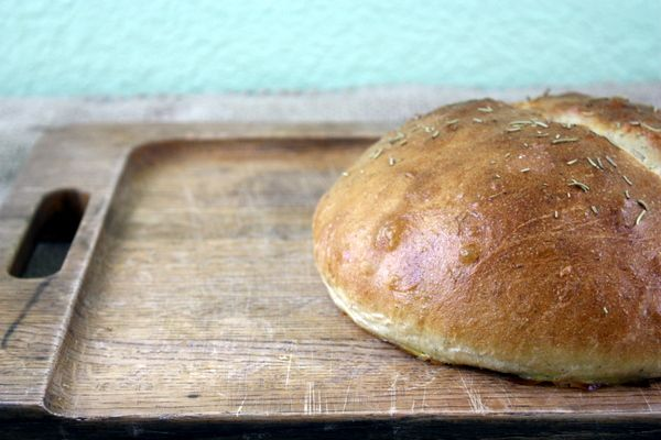 Rosemary Olive Oil Bread | http://www.thekitchenpaper.com/rosemary ...