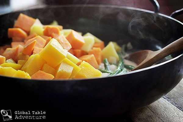 Autumnal Veggies in Spiced Coconut Milk | Recipe