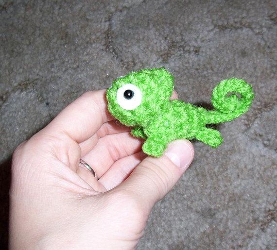 Crochet Chameleons : crochet chameleon Crochet Amigurumi Pinterest