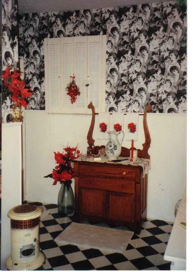 bathroom in red black and white checks bathrooms pinterest: bathroom black red white