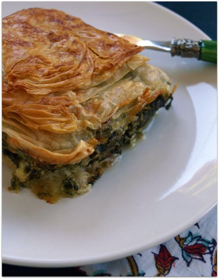 Spanakopita (Spinach Pie) | Food | Pinterest