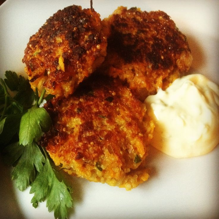 Quinoa and Sweet Potato Cakes | Food/Drinks | Pinterest