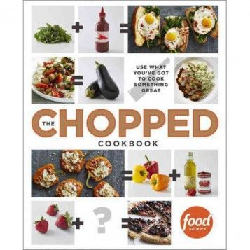 "Never again let the question, ""What's for dinner?"" stump you. The Chopped Cookbook features secrets for combining pantry staples to make exciting meals. It's available now at the Food Network Store!"