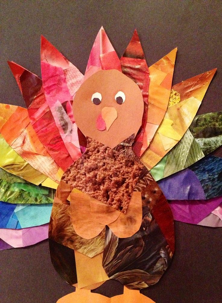 thanksgiving turkey preschool craft kids crafts