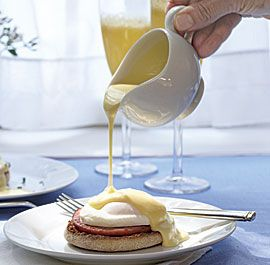 "Classic Hollandaise Sauce as it should be from the book ""Modern Sauces ..."