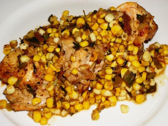 Made Michael Symon's Chorizo-Stuffed Chicken Breasts with Cilantro ...