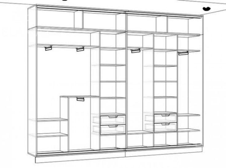 Конструкция шкафа купе своими руками 17