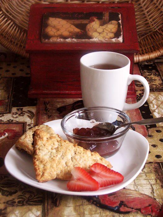 Scottish Oat Scones | Delicious! | Pinterest