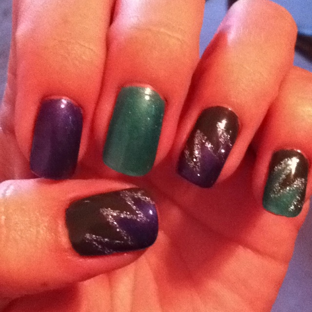 Shellac design! | Shellac Nails | Pinterest
