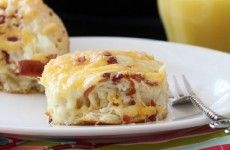 Cheesy Bacon Biscuit Pull-Aparts-1 | FOOD!!! | Pinterest
