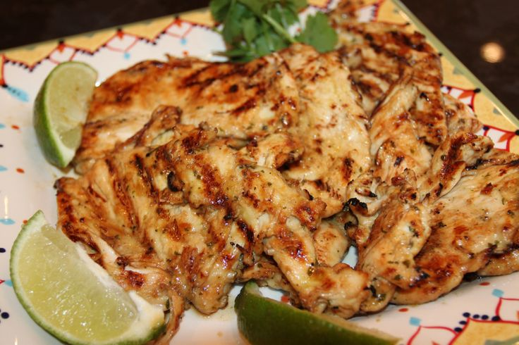 Grilled Margarita Chicken | Recipes | Pinterest