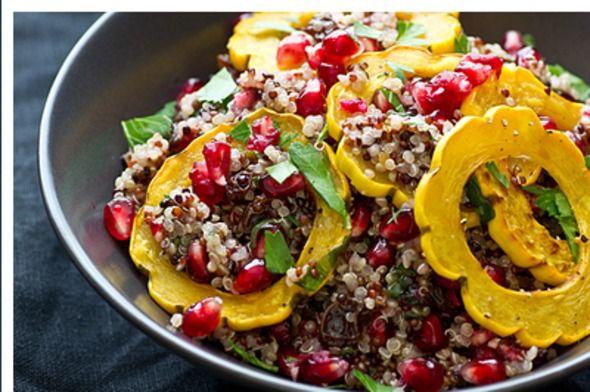 NorthWestKitchen: Quinoa-Stuffed Acorn Squash Rings