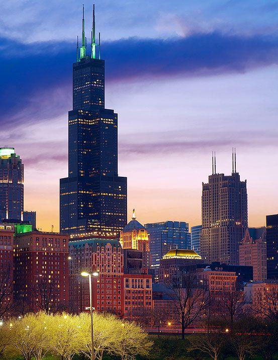 Willis Tower Illinois Prairie State Pinterest