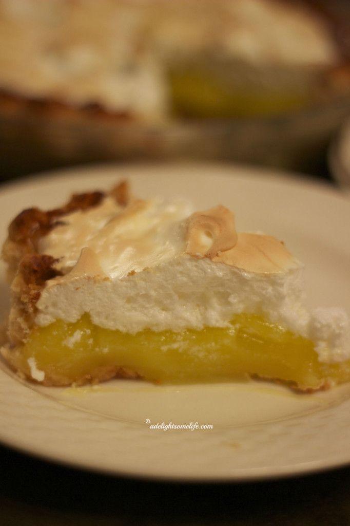 Lemon Meringue Pie and Cappuchino Chocolate Chip Cake