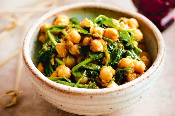 Spicy smashed chickpeas.. don't see a reason why I can't use gluten ...