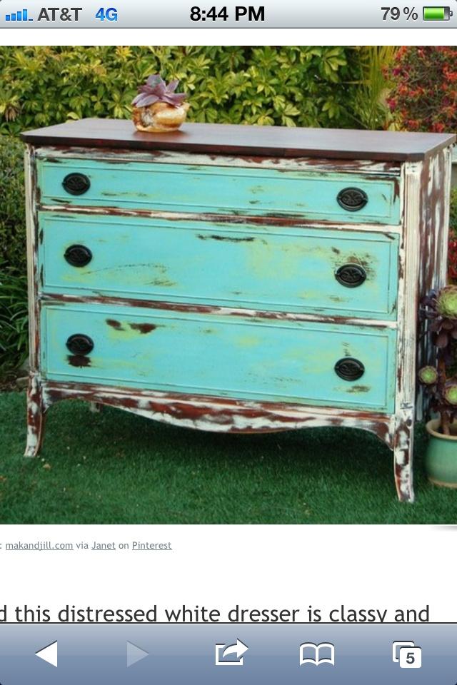 Chalk Paint Furniture Love Dresser Makeovers Pinterest