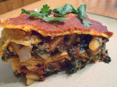 ... The Pigs Fly: Clean Eating: Potato, Spinach, & Mushroom Enchiladas