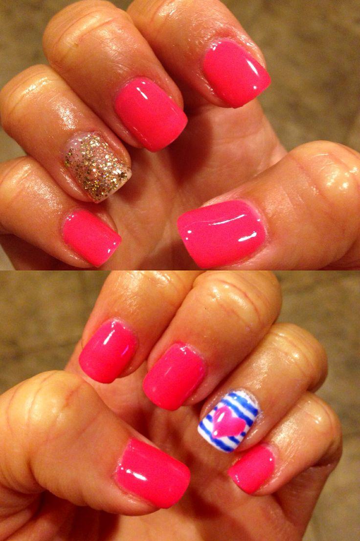 gel polish designs summer nails gel nails pinterest
