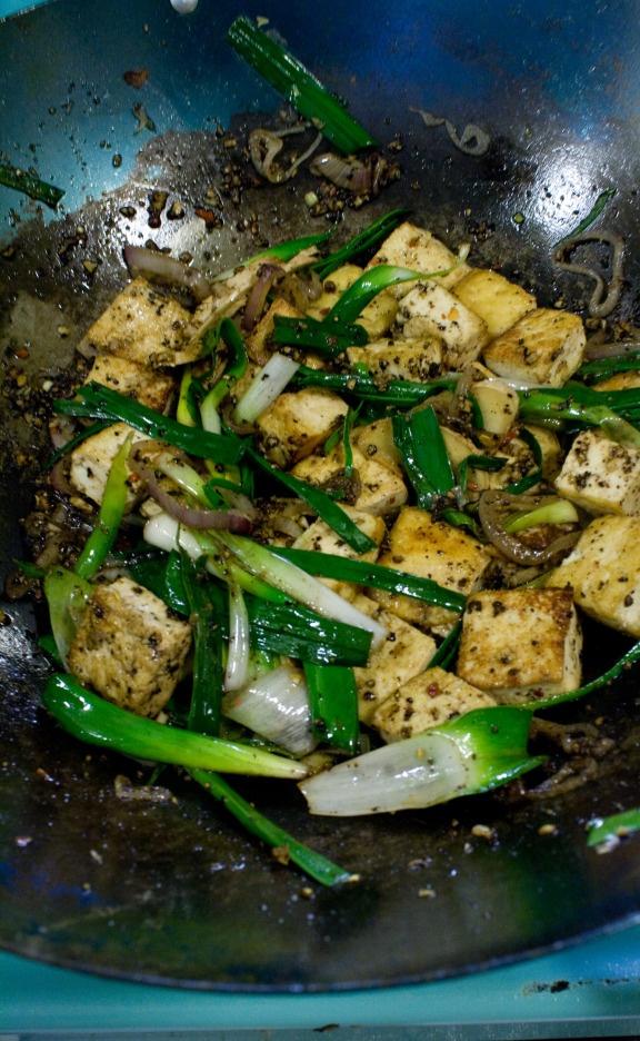Black Pepper Tofu « Thursdays with Wanda | Asian food | Pinterest