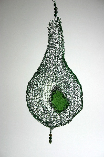 'Reliquary: Glass' by alissahead, via Flickr - knitted zinc-coated copper wire