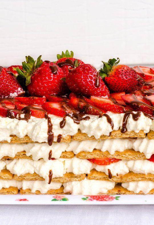 Summer Recipe: No-Bake Strawberry Icebox Cake — Recipes from The ...