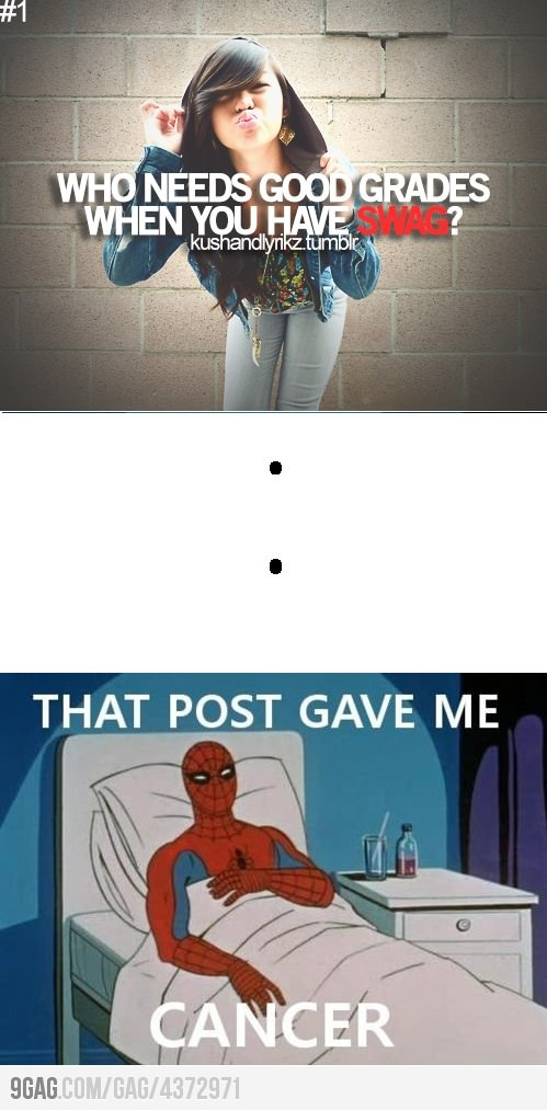 That post gave me cancer.