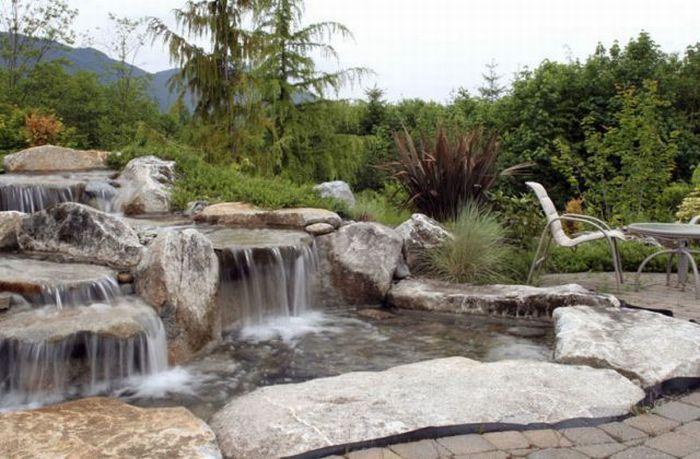 nice backyard garden pinterest