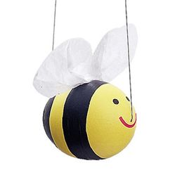 Easter Eggs: Bee Egg  #Easter #Eggs: 28 Decorating and Fun Ideas