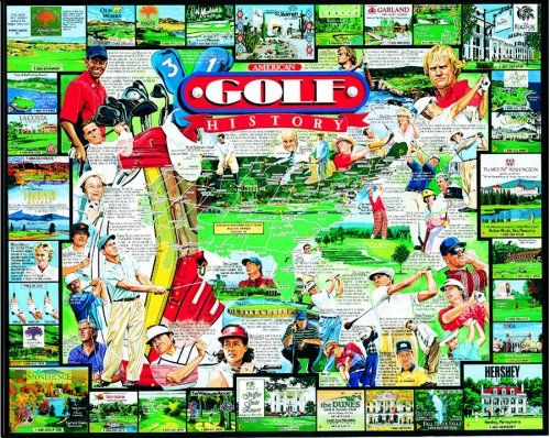 ... Golf History Jigsaw Puzzle | Puzzles Made With Jigsaws | Pin