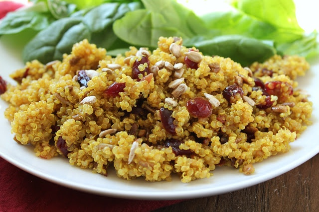 Curried Cranberry Quinoa Side Dish | Eat! | Pinterest