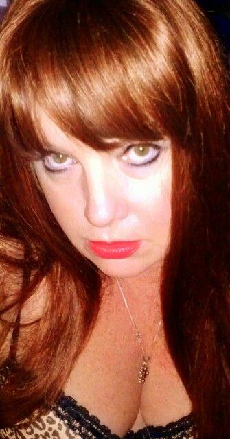 Burnt Sienna Hair  Dark Brown Hairs