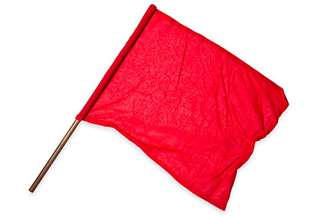 flags that are red
