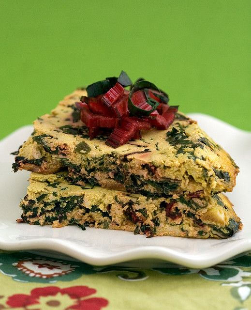 Swiss Chard Frittata | Post Punk Kitchen | Vegan Baking & Vegan ...