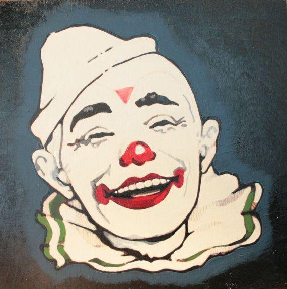 Vintage Clown 23