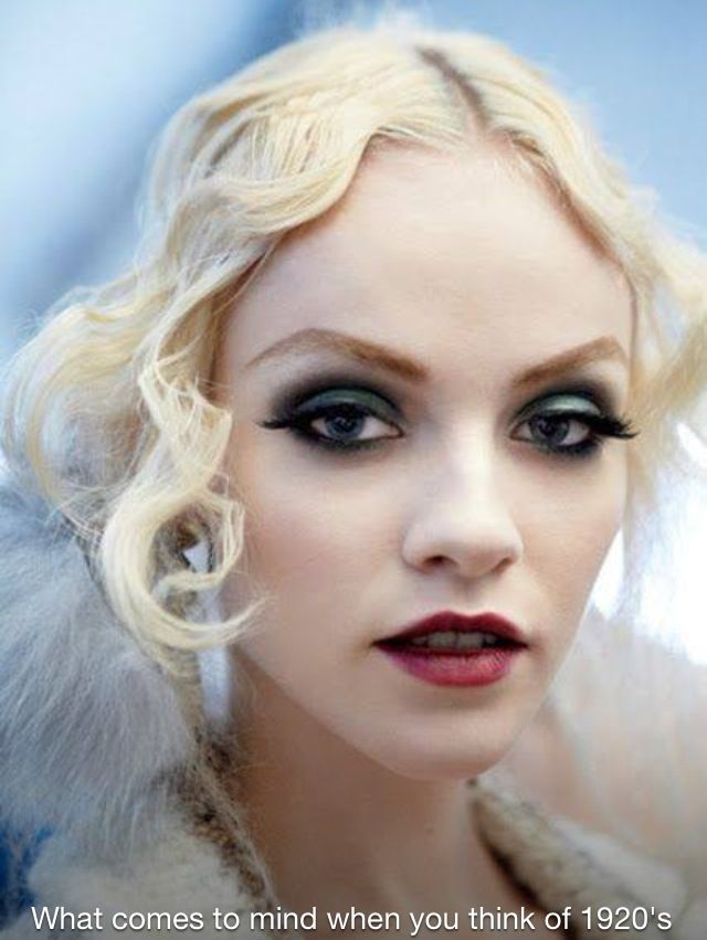 1920s Makeup Tutorial How To Flapper Fun For A Gatsby Look Vintage ...