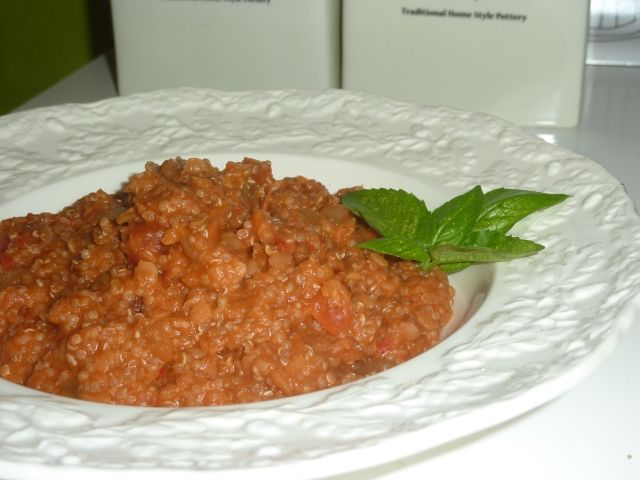 Vegan Lentil Quinoa Dahl: First boil a cup of red lentils with water ...