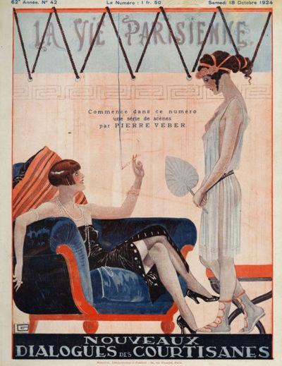 La Vie Parisienne by George Leonnec