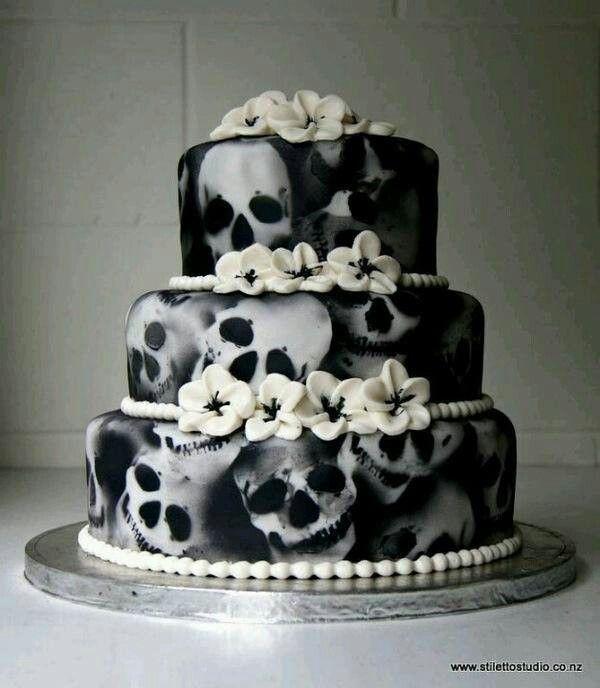 skull all cake ideas - photo #49