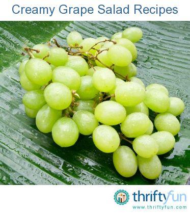 ... cream creamy grape dessert recipes dishmaps creamy grape dessert
