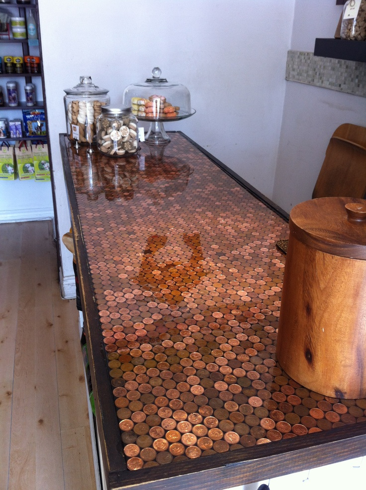 Penny Countertop At The Bone House Kitchens Pinterest