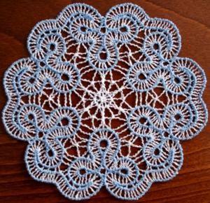 "Pattern for Crochet Version of Ribbed ""Lace"" Bolero"