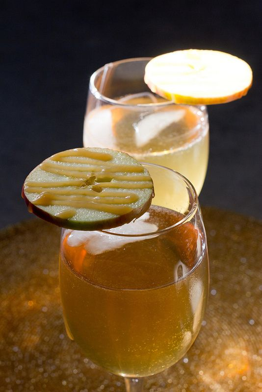 Caramel apple cocktail recipe dishmaps for Cocktail 69 recipe