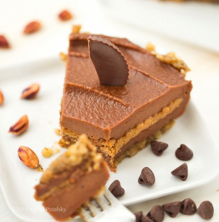 Reese's peanut butter cup pie | Sweet Tooth | Pinterest