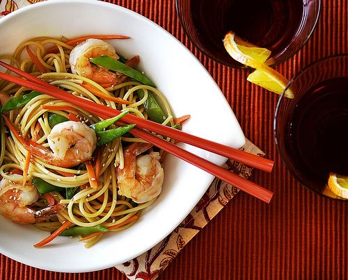 Long Life Fertility Noodles with Happy Shrimp « ThatsWhyImFat