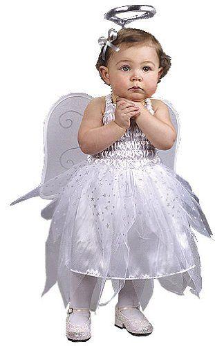 Angel costume baby clever halloween costumes pinterest